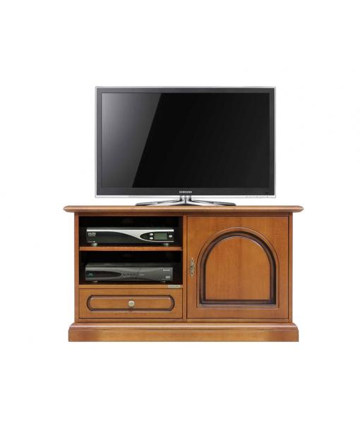Mobile porta tv in legno anta e cassetto arteferretto - Mobili tv girevoli ...