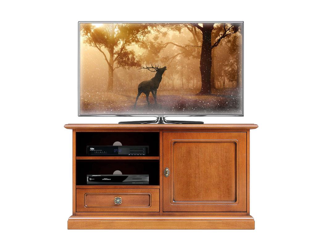 Mobile porta tv, mobiletto tv classico in legno per soggiorno ...