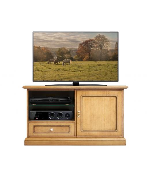Mobile porta TV in legno chiaro da salotto