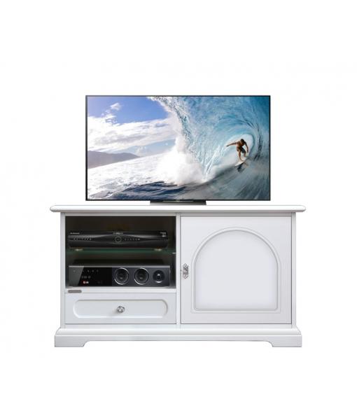 Porta tv midi con antina e cassetto, Art. 3823