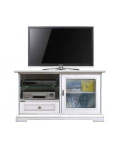 Porta tv anta vetrina da salotto e cucina con anta vetro