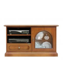 porta tv in legno, mobile tv, porta tv