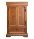 Mobiletto, comodino, comodino con porte, mobiletto in legno, arredo camera da letto, mobiletto in stile, mobiletto stile classico, stile Luigi Filippo,