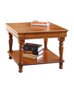 tavolino quadro con cassetto
