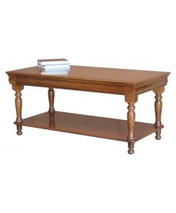 Tavolino rettangolare Luigi Filippo
