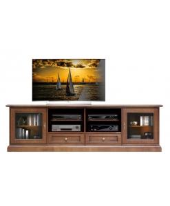 Porta tv in stile classico per soggiorno
