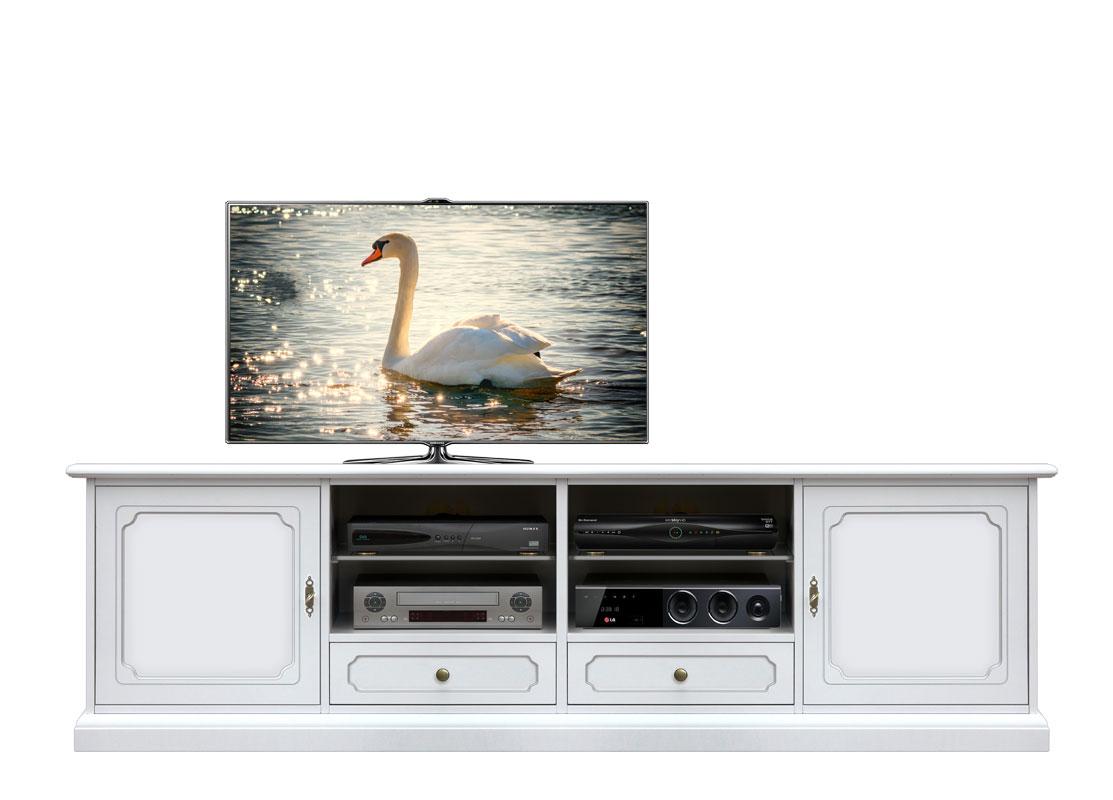 Mobile porta tv legno laccato, mobile tv per soggiorno, mobiletto ...