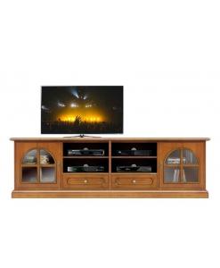 Mobile porta tv classico 2 metri Arteferretto