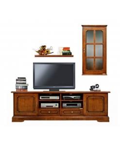 Arredo parete tv per soggiorno o salotto