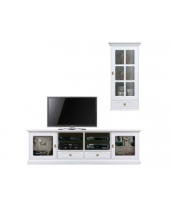 Composizione mobile porta tv per soggiorno