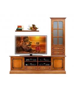 Composizione soggiorno parete tv Arteferretto