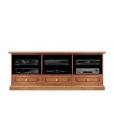 Mobile porta TV da salotto, stile classico, in legno