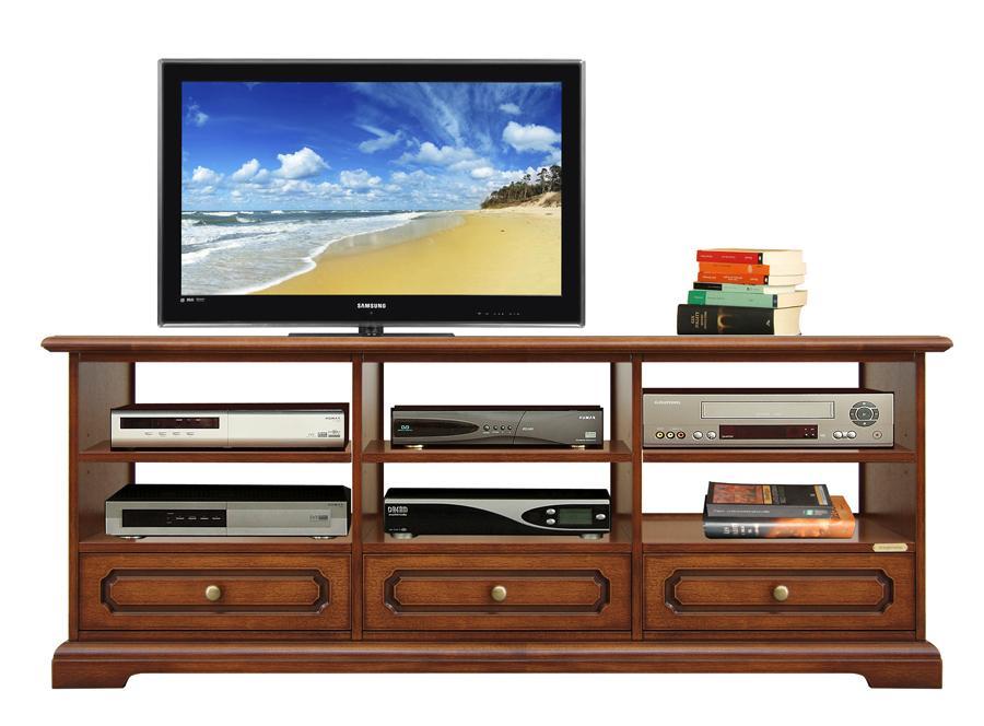 Mobile porta tv 3 vani e 3 cassetti arteferretto for Mobili hi fi design