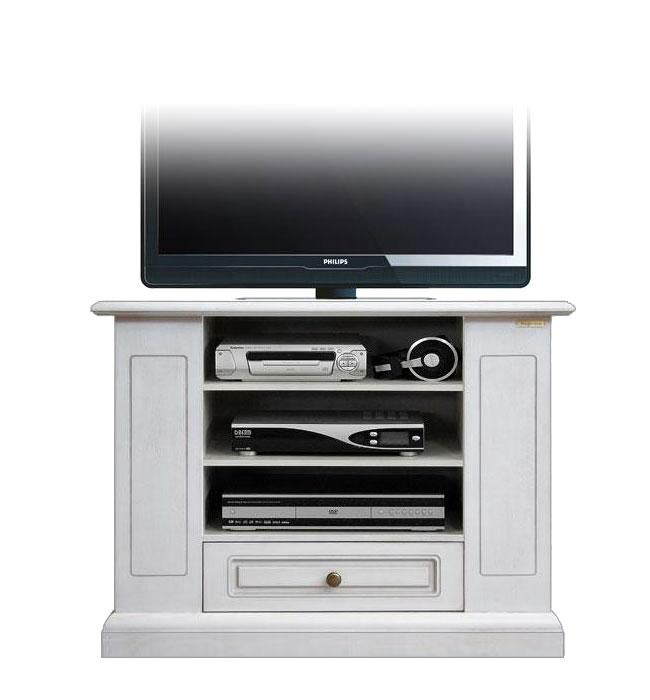Mobile porta tv legno laccato scaffali laterali mobiletto - Mobile porta tv classico legno ...