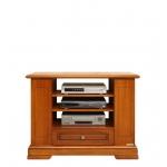 Mobile tv schienale aperto in legno stile classico