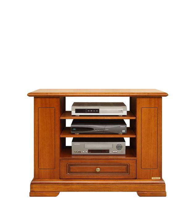 Mobile porta tv legno ripiani laterali ampi vani - Mobile porta tv classico legno ...