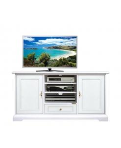 mobile porta tv classico, mobile per soggiorno, mobile tv, mobile tv in stile, mobile tv laccato