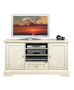 mobile porta tv classico, mobile tv, mobile elegante, arredo soggiorno, mobile tv per salotto