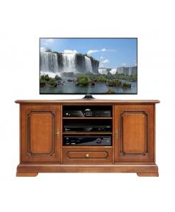 Porta tv 2 ante 1 cassetto larghezza 130cm