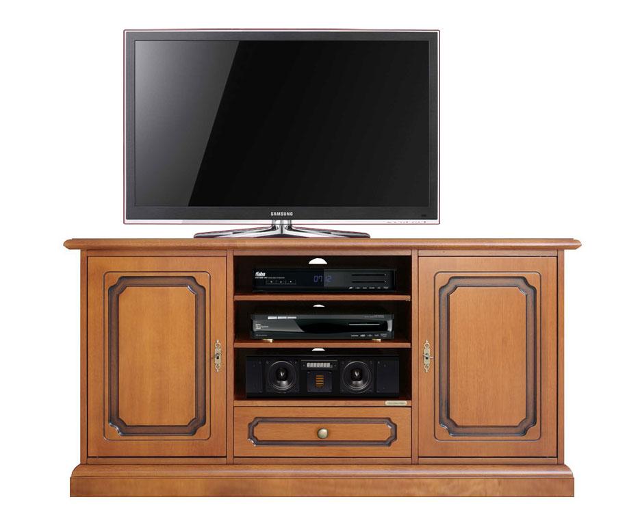 Porta tv classico 130 cm 2 ante arteferretto - Porta tv classico ...