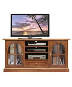 Mobile porta tv vetrina di stile classico
