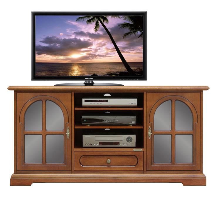 Arredo soggiorno, mobile porta tv classico,mobile tv in legno 2 ...