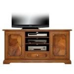 porta tv con radica, porta tv, mobile tv in legno, mobile tv con radica