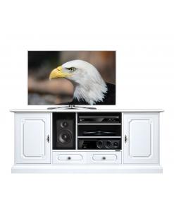 Mobile porta Tv 160 cm bianco laccato per il salotto