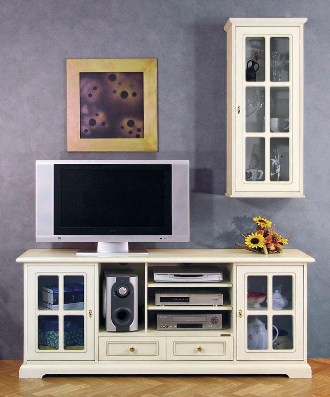 Mobile porta tv classico parete soggiorno mobile tv e for Parete salotto