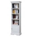 Libreria stretta con una porta e 4 vani
