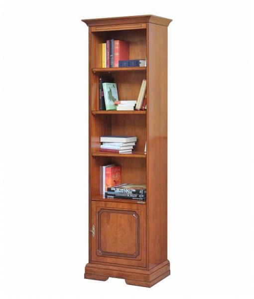 Libreria salvaspazio con anta, Art. 4089