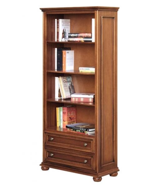 Libreria 2 cassetti, libreria in stile 417