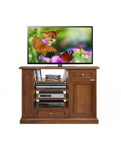 mobile tv, porta tv, mobile in legno, mobile per soggiorno, mobile con scaffalature, porta tv in stile, stile classico