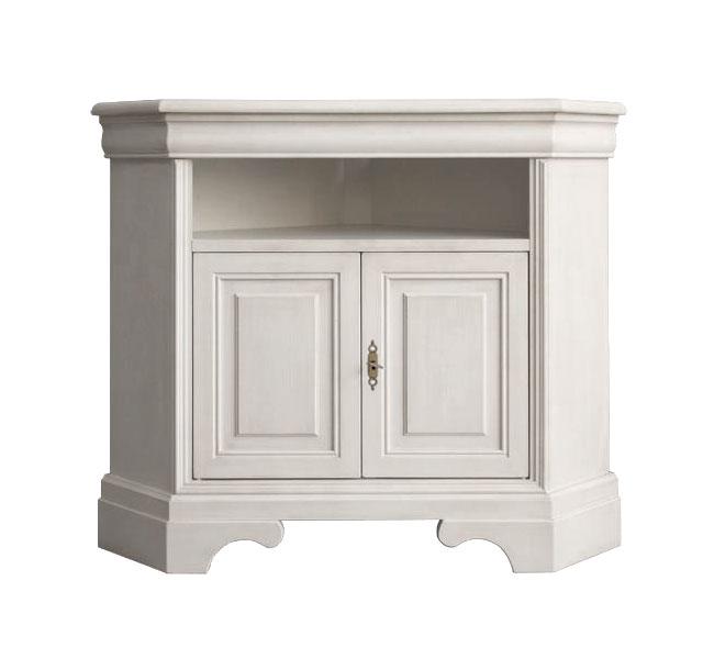 mobile porta tv ad angolo mobiletto ad angolo mobile angolare in legno laccato ebay. Black Bedroom Furniture Sets. Home Design Ideas