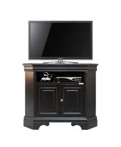 porta tv angolare nero, porta tv, porta tv nero, mobile tv, mobile angolare nero