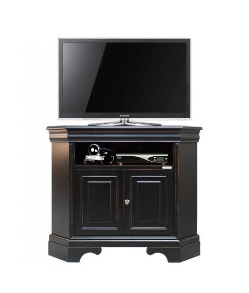Porta tv angolare nero spigolato arteferretto - Porta tv nero ...