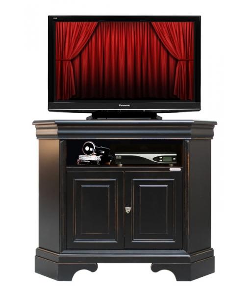 Porta tv angolare nero spigolato arteferretto - Porta tv angolare ...