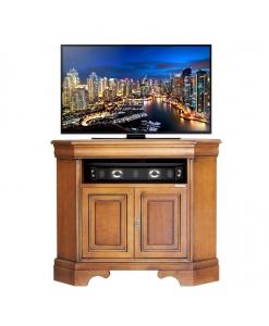 porta tv ad angolo in legno