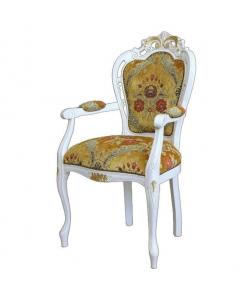 sedia, capotavola, sedia classica