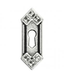 Bocchetta chiave Swarovski