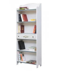 libreria decorata, libreria a giorno