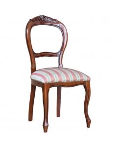 sedia classica intagliata, sedia, sedia classica, sedia in legno