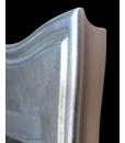 Dettaglio angolo specchio in foglia argento