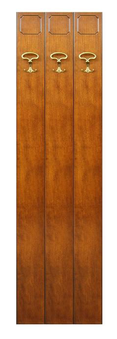 Pannello appendiabiti in legno da parete mobile ingresso - Mobile da ingresso con appendiabiti ...