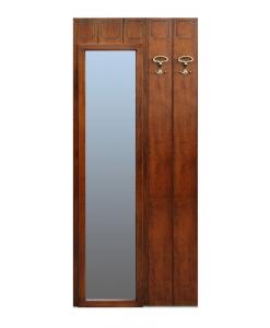 appendiabiti con specchio, pannello ingresso
