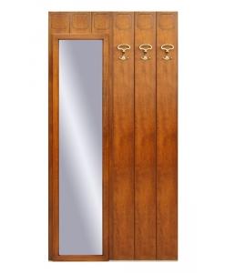 mobili ingresso, pannello specchio