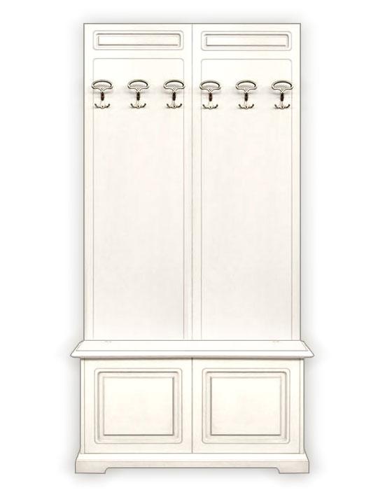 Mobili stile classico in legno cassapanca e appendiabiti arredo ingresso ebay - Mobili appendiabiti ingresso ...