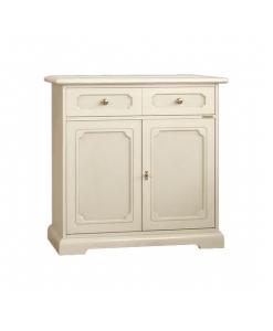 Credenzina in legno laccato per cucina, soggiorno o salotto