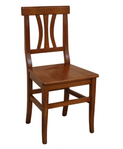 Sedia in legno di faggio classica per cucina