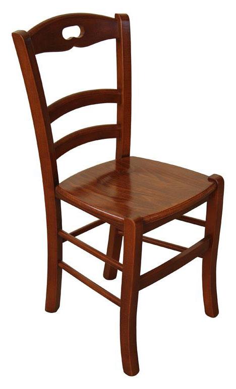 Sedia classica da cucina arteferretto - Sedie da cucina in legno ...
